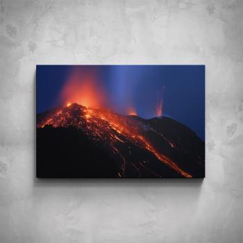 Obraz - Aktivní sopka