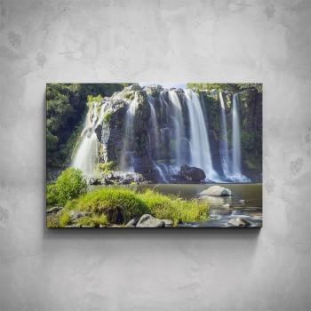 Obraz - Pralesní vodopád