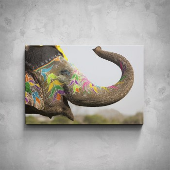 Obraz - Pomalovaný slon