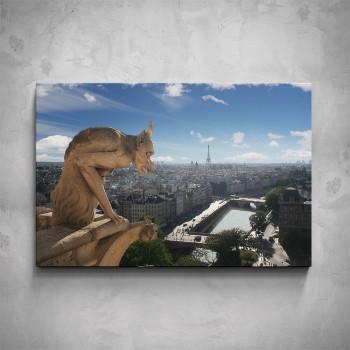 Obraz - Chrliče Notre Dame