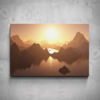 Obraz - Západ slunce