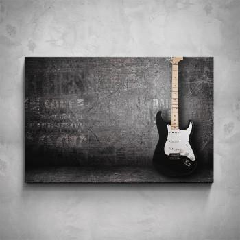 Obraz - Opřená kytara