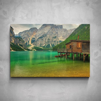 Obraz - Zelené jezero