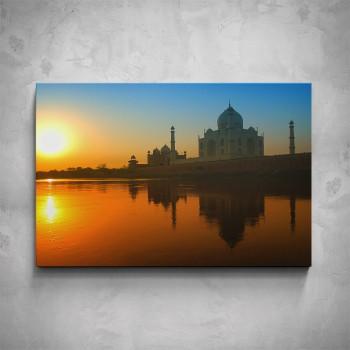 Obraz - Tádž Mahal při západu slunce