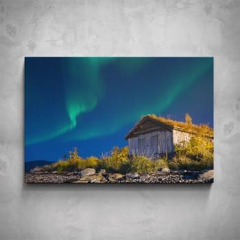 Obraz - Polární záře v Norsku