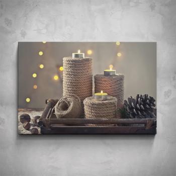 Obraz - Svíčky