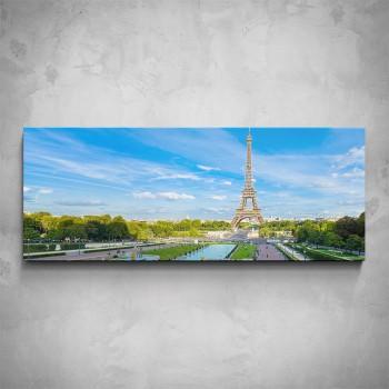 Obraz - Paříž Eiffelova věž