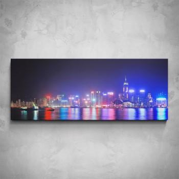 Obraz - Noční Hong Kong