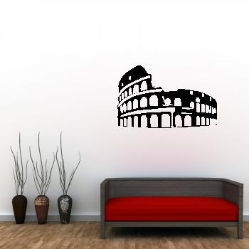 Samolepka na zeď - Koloseum v Římě