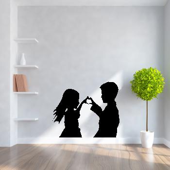 Samolepka na zeď - Dětská láska
