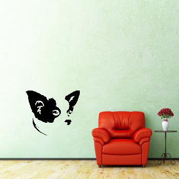 Samolepka na zeď - Čivava