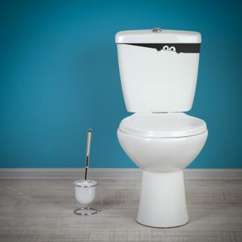 Samolepka na WC - Strašidýlko