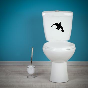 Samolepka na WC - Kosatka