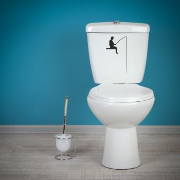 Samolepka na WC - Rybaření