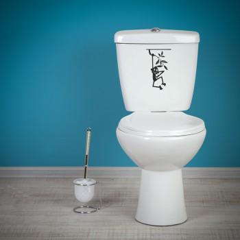 Samolepka na WC - Zavěšení