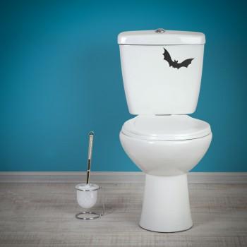 Samolepka na WC - Netopýr