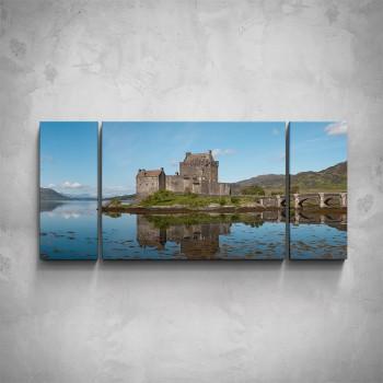 3-dílný obraz - Eilean Donan