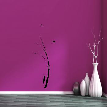 Samolepka na zeď- Floral