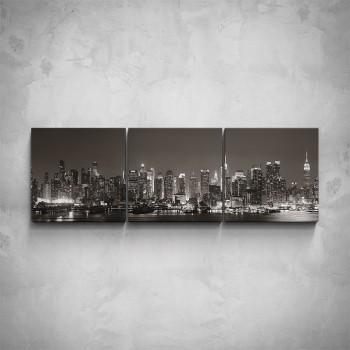 3-dílný obraz - Pohled na New York