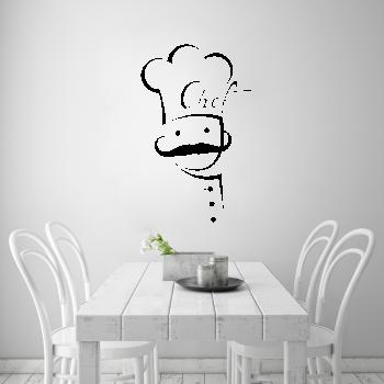 Samolepka na zeď - Chef