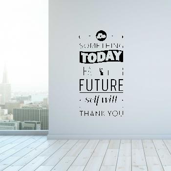 Samolepka na zeď - Nápis Future