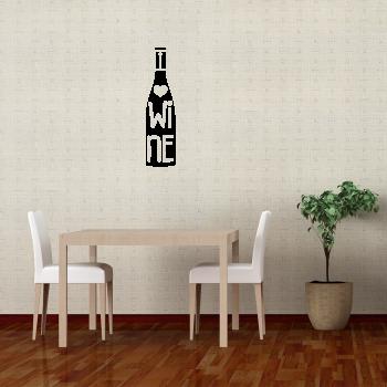 Samolepka na zeď - Wine