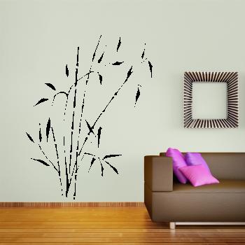 Samolepka na zeď - Čínský bambus