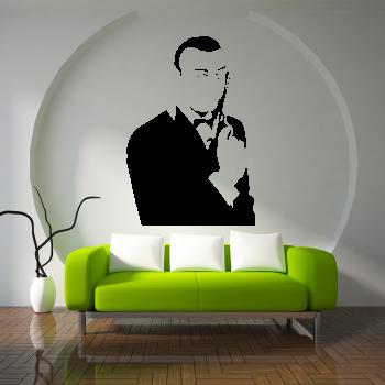 Samolepka na zeď - James Bond 007