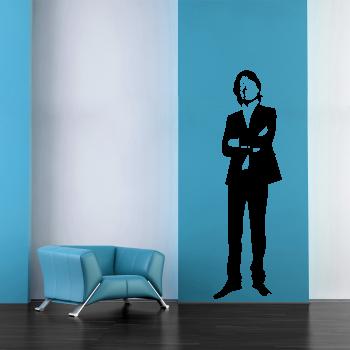 Samolepka na zeď - Mick Jagger