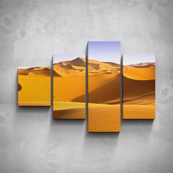 4-dílný obraz - Písečné duny
