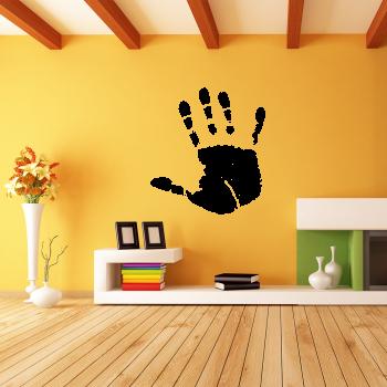 Samolepka na zeď - Otisk dlaně 1+1 zdarma