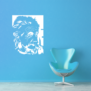 Samolepka na zeď - Albert Einstein