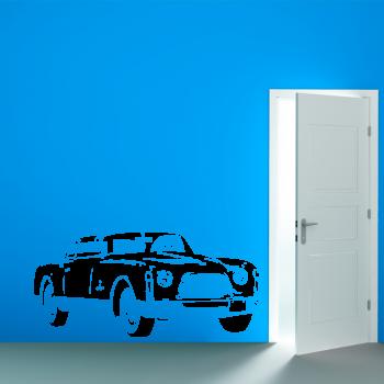 Samolepka na zeď - Automobil veterán