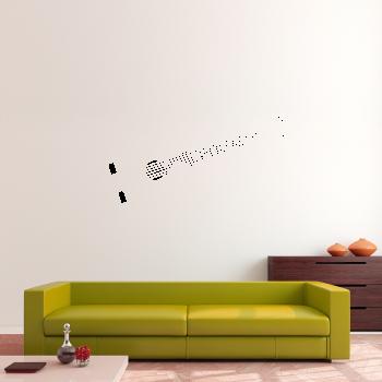 Samolepka na zeď - Kytara