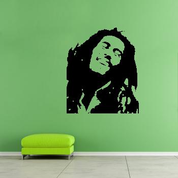 Samolepka na zeď - Bob Marley