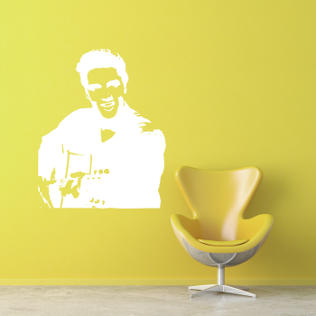 Samolepka na zeď - Elvis Presley