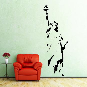 Samolepka na zeď - Socha svobody