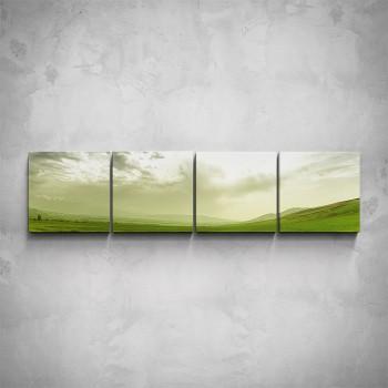 4-dílný obraz - Panorama