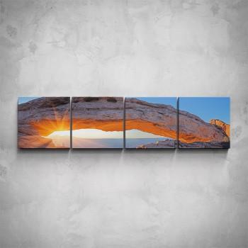 4-dílný obraz - Svítání