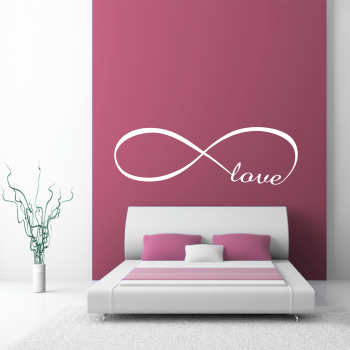 Samolepka na zeď - Love nápis