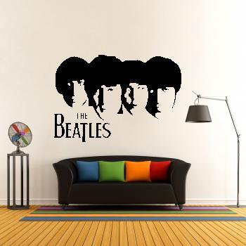 Samolepka na zeď - The Beatles