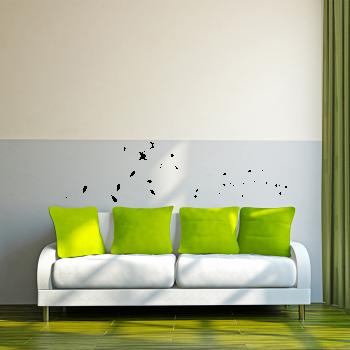 Samolepka na zeď - Dlouhá větvička
