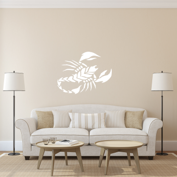Samolepka na zeď - Štír
