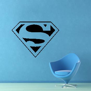 Samolepka na zeď - Superman znak