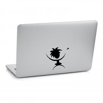 Samolepka na notebook - Domorodec