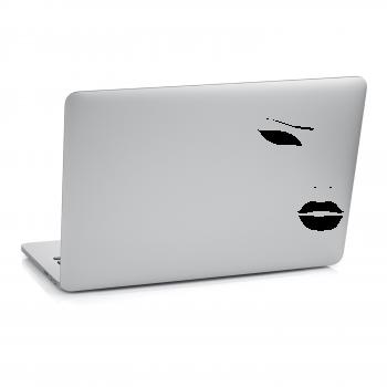 Samolepka na notebook - Tvář
