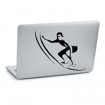 Samolepka na notebook - Surfař