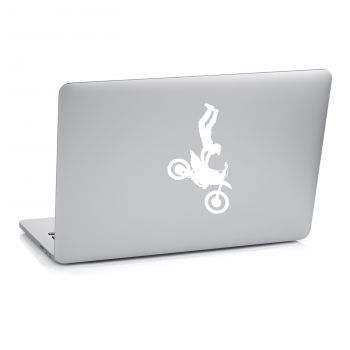 Samolepka na notebook - Motocross
