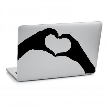 Samolepka na notebook - Srce