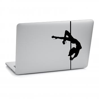 Samolepka na notebook - Striptérka